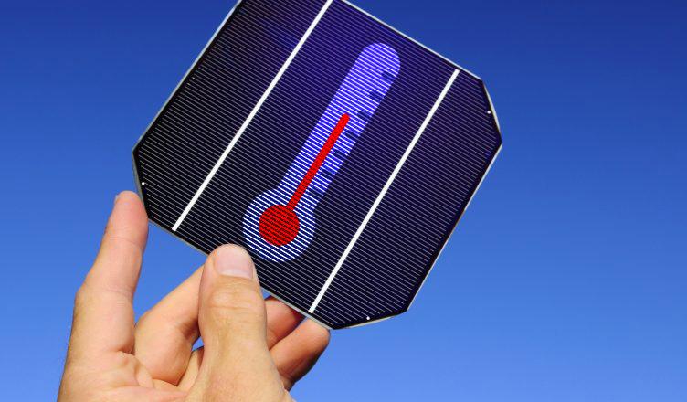 Painel Solar Fotovoltaico O gerador de energia solar - Influência da Temperatura na Célula Fotovoltaica