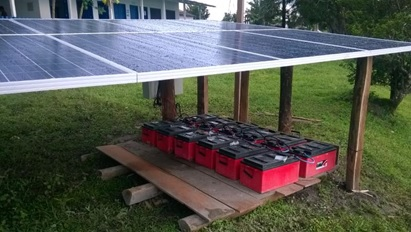 Tudo sobre energia solar - Sistemas off-grid com armazenamento de energia